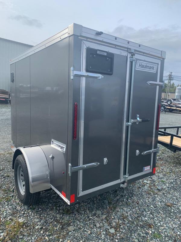 2020 Haulmark 5X8 BARN DOOR TRANSPORT Enclosed Cargo Trailer