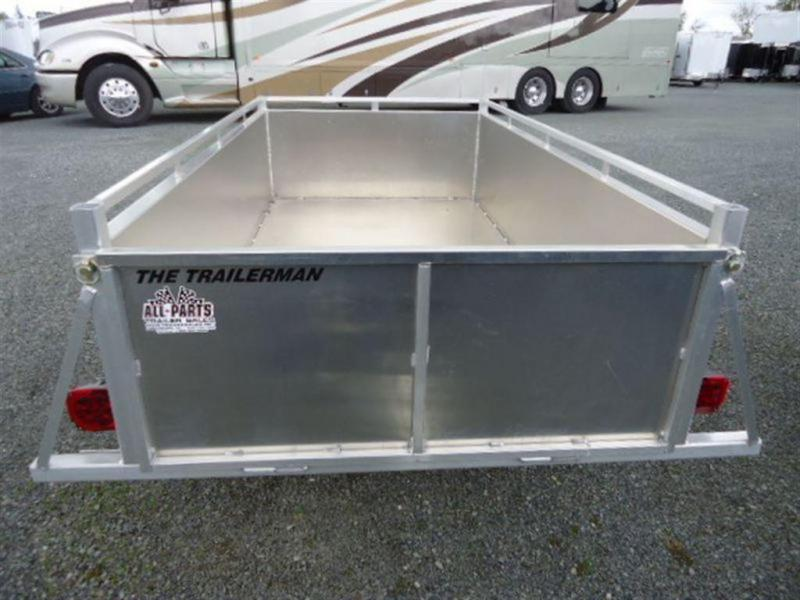 2020 Trailerman 4 x 8 Aluminum Box Utility Trailer