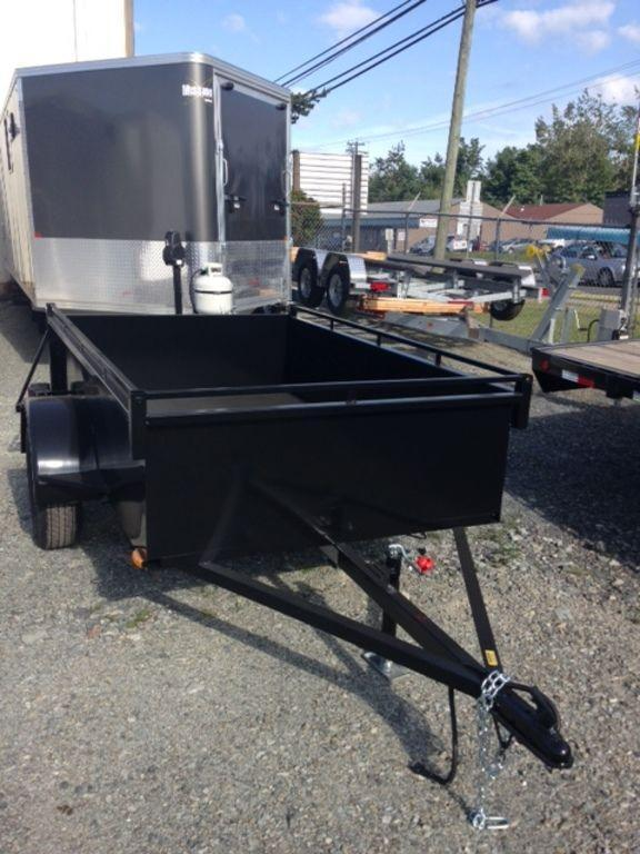 2019 Trailerman 5 x 8 Box Utility Trailer