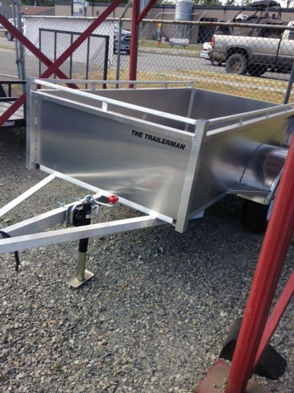 2020 Trailerman 5 x 8 Aluminum Box Utility Trailer