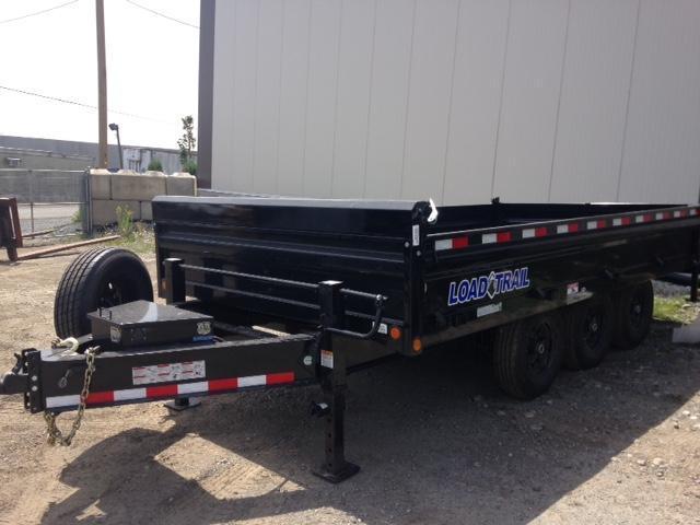 2020 Load Trail 8x16 21k DUMP TRAILER