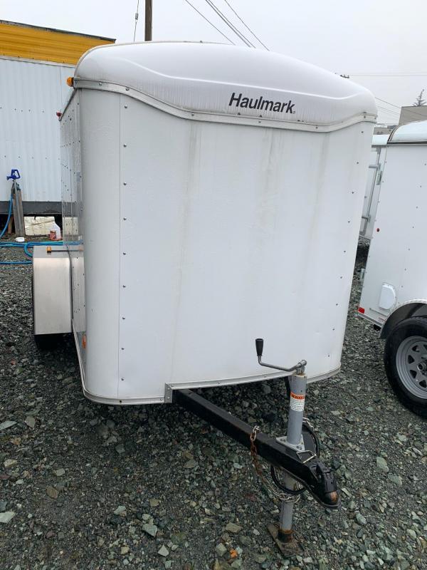 2007 Haulmark 5X8 TRANSPORT BARN DOOR Enclosed Cargo Trailer