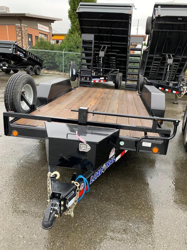 2020 Load Trail CH14 Carhauler 83 x 18 Equipment Trailer