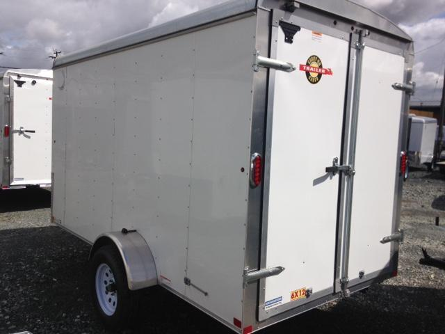 2020 Carry-On 6X12 BARN DOORS Enclosed Cargo Trailer