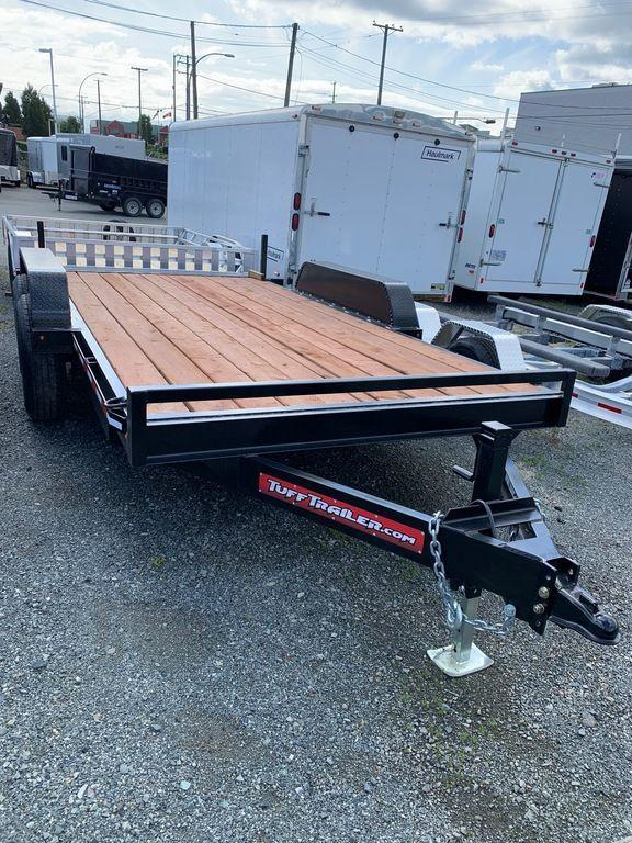 2019 Tuff Trailer 7x14 14K Equipment Trailer w/ Ramps