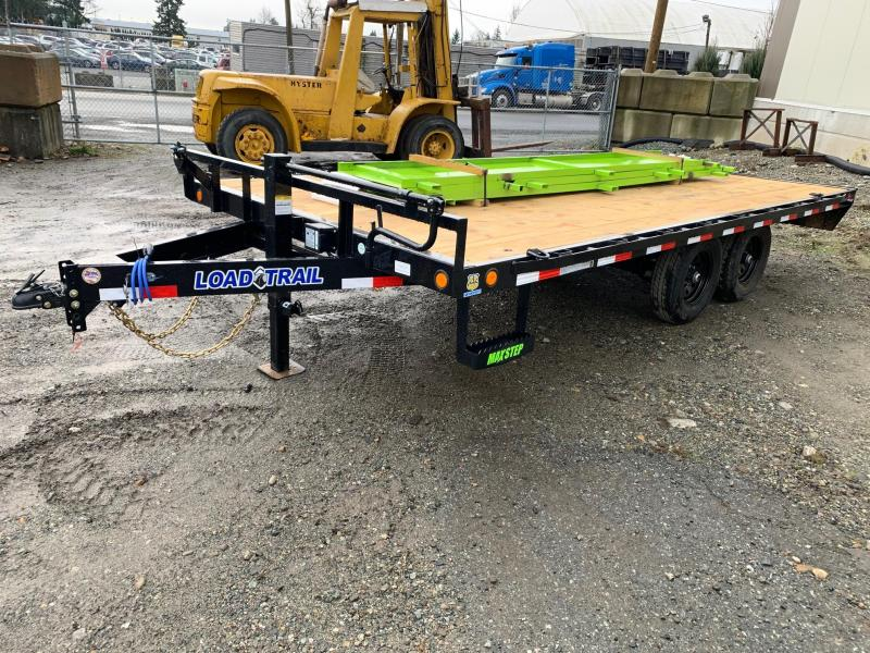 2020 Load Trail 8.5X16' 10K DECKOVER Flatbed Trailer