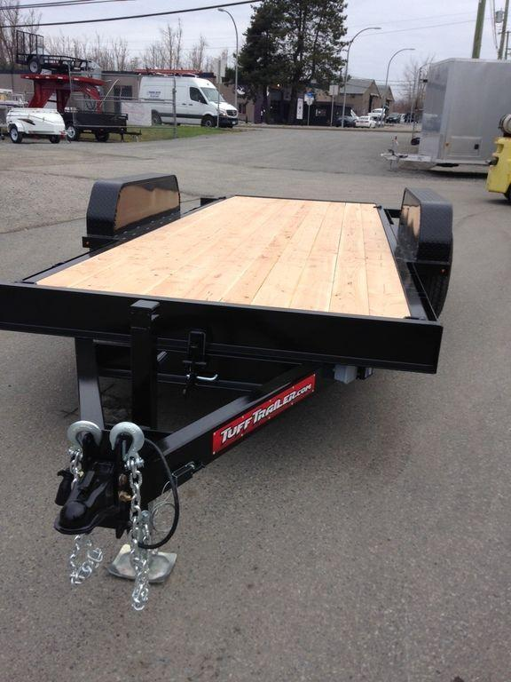 2019 Tuff Trailer 7x18 14K Full Tilt Equipment Trailer