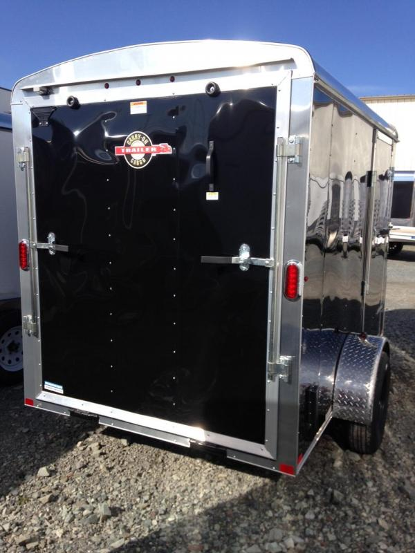 2020 Carry-On 6x12 RAMP W/BRAKES Enclosed Cargo Trailer