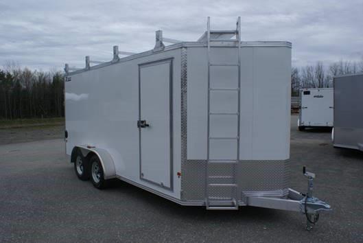 2020 E-Z Hauler 7x16 UCP Enclosed Cargo Trailer