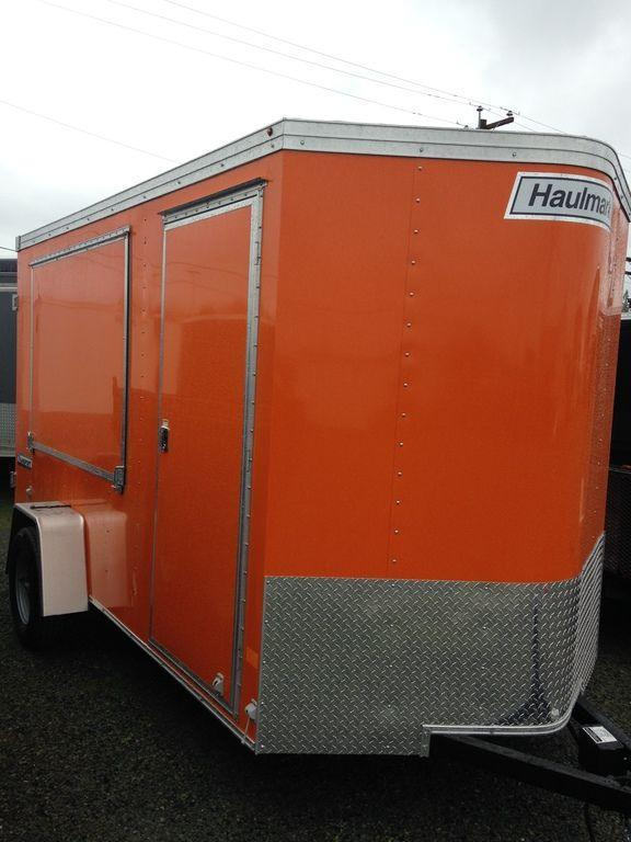 2019 Haulmark Transport V-Nose 6' Wide TSTV6X12DS2 Concession Trailer