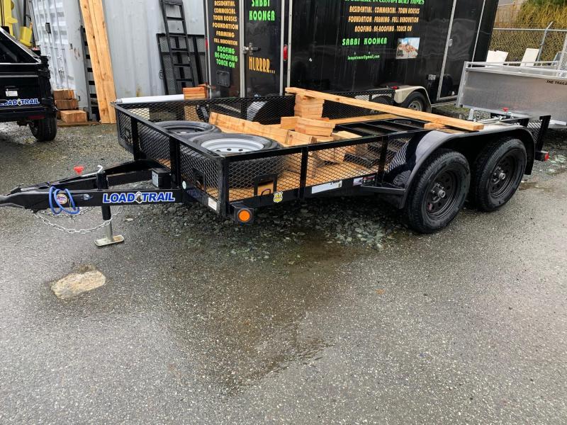 "2020 Load Trail UE07 - Tandem Axle Utility 77""x12 Utility Trailer"