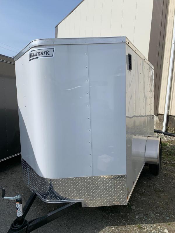 2019 Haulmark 6X12 BARN DOOR Enclosed Cargo Trailer