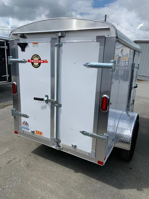 2020 Carry-On 5X8 BARN DOORS Enclosed Cargo Trailer