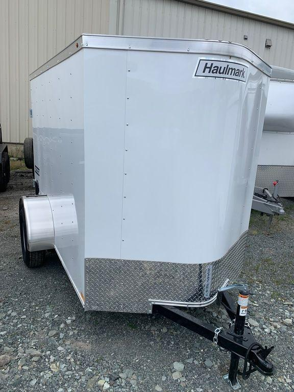 2019 Haulmark Passport 5X8 BARN DOOR Enclosed Cargo Trailer