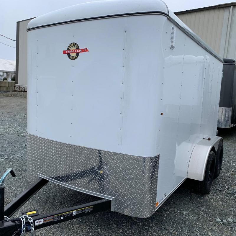 2020 Carry-On 6X12 Tandem Barn doors Enclosed Cargo Trailer