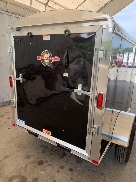 2020 Carry-On 5X8 Ramp Enclosed Cargo Trailer