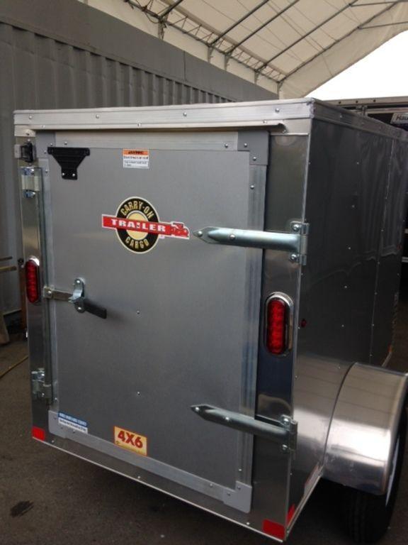 2019 Carry-On 4X6CGVEC-13 Enclosed Cargo Trailer