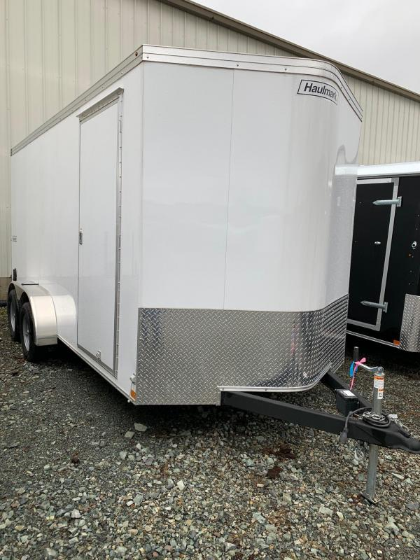 2019 Haulmark 7x16 TRANSPORT W/ RAMP Enclosed Cargo Trailer