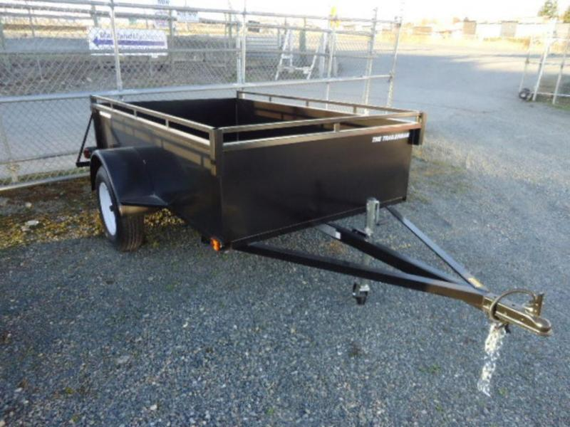 2020 Trailerman 4x8 Steel Box Utility Trailer