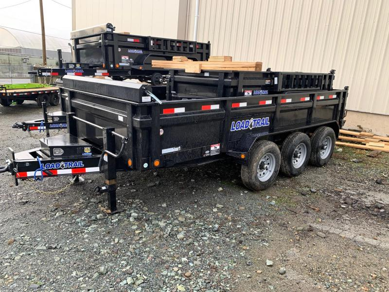 2020 Load Trail 7X16 21K TRIPLE AXLE Dump Trailer