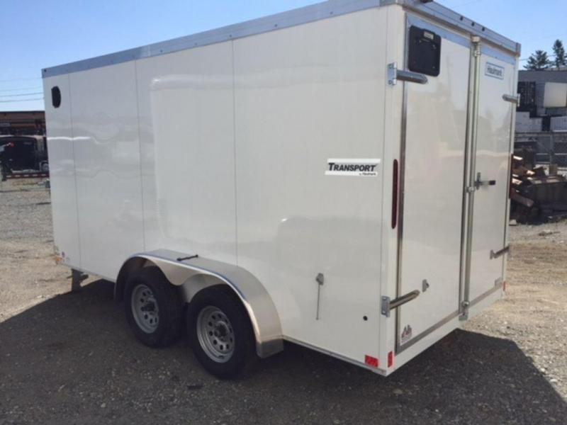 2019 Haulmark Transport 7x14 Barn Door Enclosed Cargo Trailer