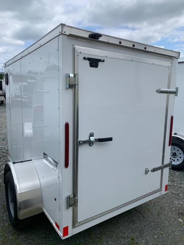 2020 Haulmark 5X8 BARN DOOR Enclosed Cargo Trailer