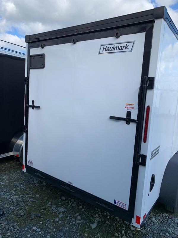 2020 Haulmark V-nose Transport 7x14 w/ramp Enclosed Cargo Trailer