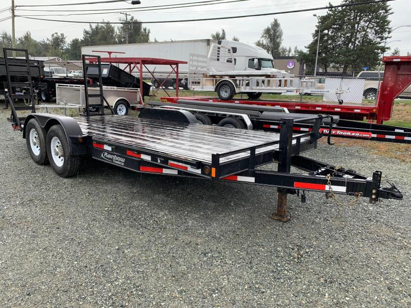2018 Other Rainbow 7x18 14000# Equipment Trailer