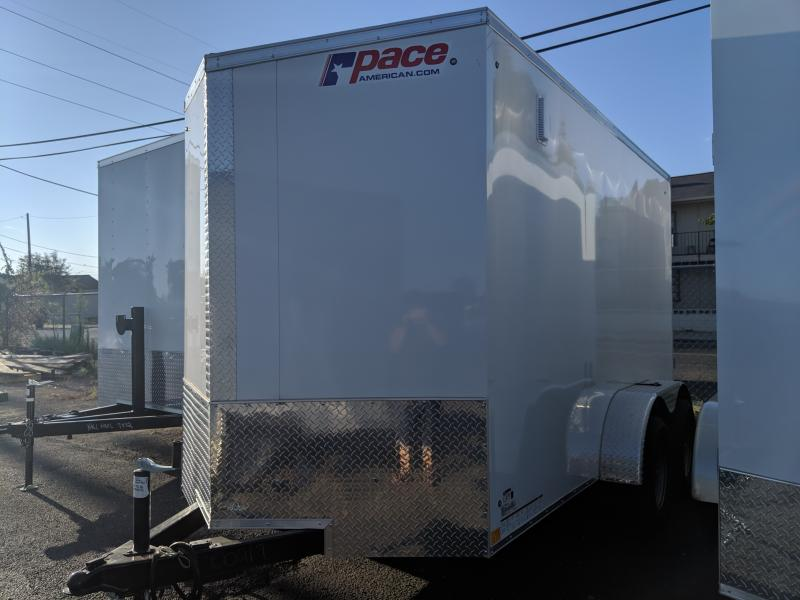 2020 Pace American 6x12 Journey Enclosed Cargo Trailer