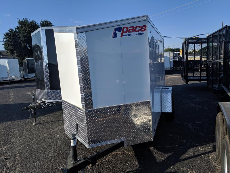 2020 Pace American 5x10 Single  Journey Enclosed Cargo Trailer