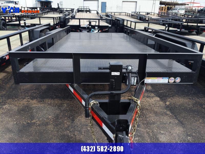 2020 BCI Trailers 83 X 16 Utility Trailer steel floor