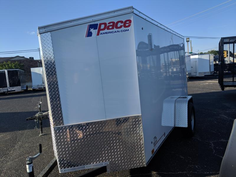 2020 Pace American 5x8 Single  Journey Enclosed Cargo Trailer