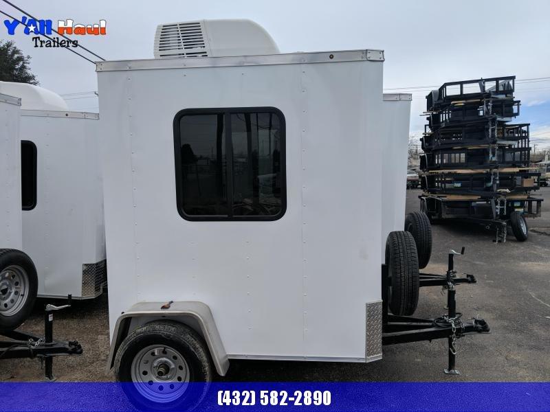 2020 Salvation Trailers 4x6 Guard shack Enclosed Cargo Trailer