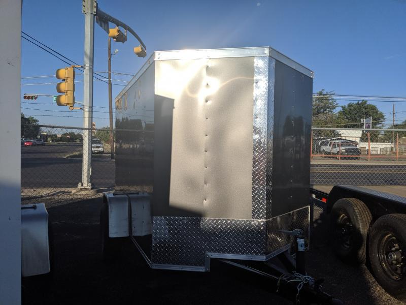 Salvation 5x8 Single Enclosed Trailer