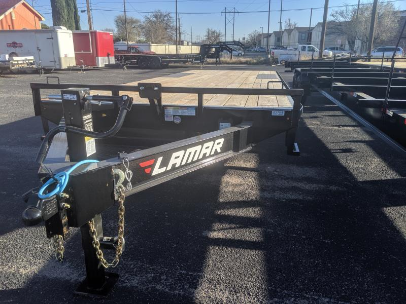 2020 Lamar Trailers 102X24 Deckover Utility Trailer Dovetail Ramps