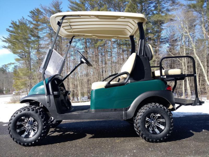 """Club Car Precedent Electric 4 pass GREEN cart 4"""" LIFT KIT-NICE CAR"""
