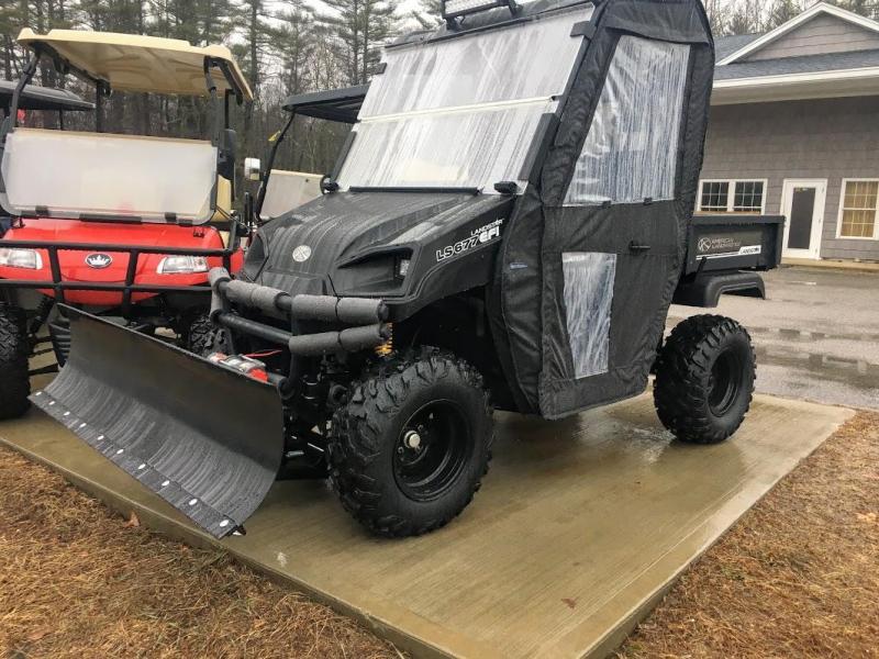 $2000 OFF American LandMaster 677 4WD UTV PLOW-DOORS-PWR STEER-BLACK