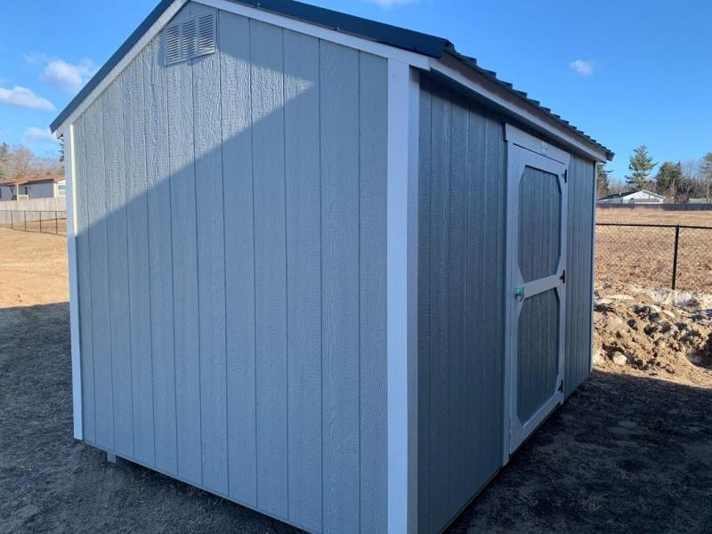 Brand NEW Old Hickory Utility Shed 8' x 12' Silver with Charcoal Steel Roof