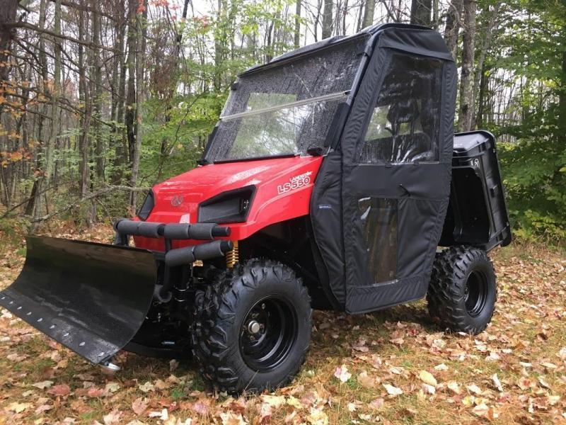 $2000 OFF American LandMaster 550 PLOW-PWR STEER-ENCLOSURE-ENDS NOV 30 RED