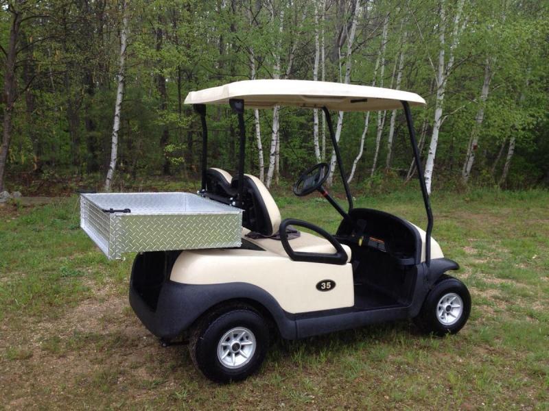 Winter Special! Club Car Precedent 2 Pass Elect Golf Car W/UTILITY BED