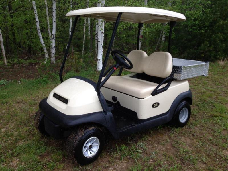 Winter Special! Club Car Precedent 2 Pass Elect Golf Car W/UTILITY BED