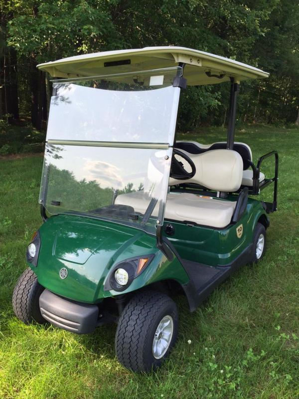 2014 Yamaha GAS Drive G29 4 Passenger Golf Cart