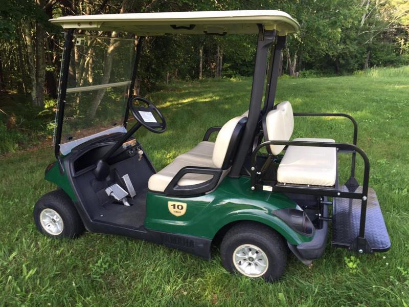 2014 Yamaha GAS Drive G29 4 Passenger Golf Cart