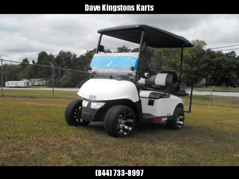 2020 Mid-South LSV 25MPH Street Legal 4 pass golf cart-Bright White