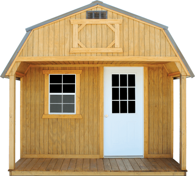 2020 Old Hickory Playhouse Lofted Utility Barn