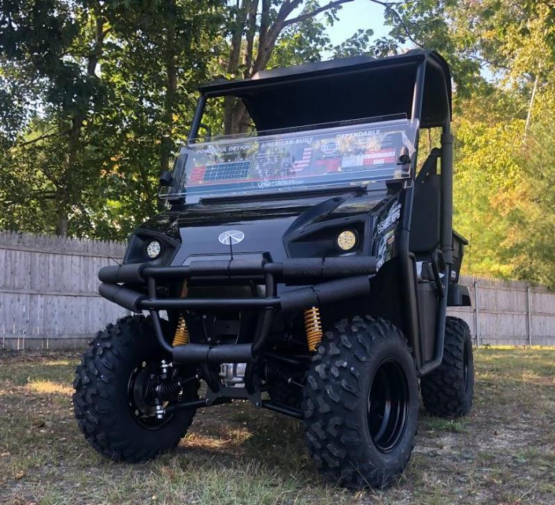 American LandMaster LS550 4WD UTV PWR STEERING BLACK