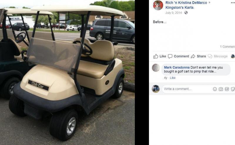 $1000 off! 2016 Club Car Precedent Electric BLUE-Super nice clean 4 pass golf cart