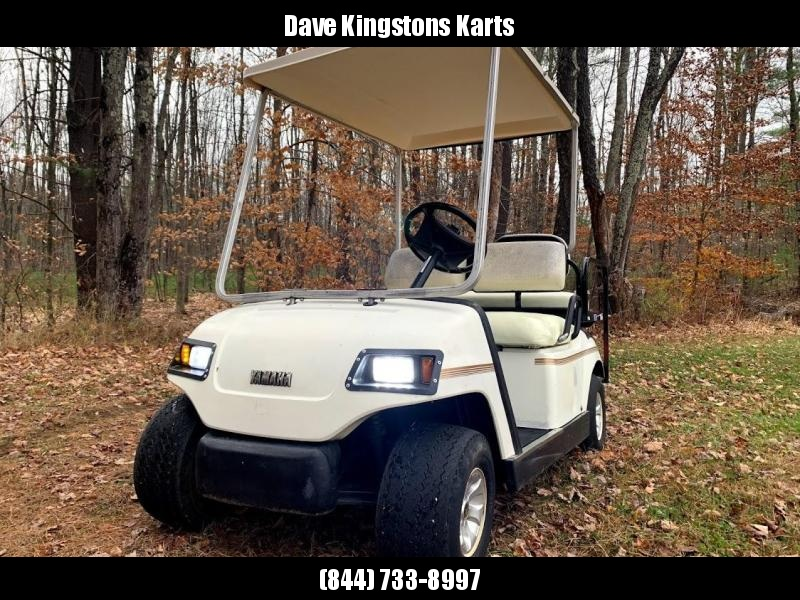 Yamaha G14 GAS 4 pass golf cart in excellent running condition