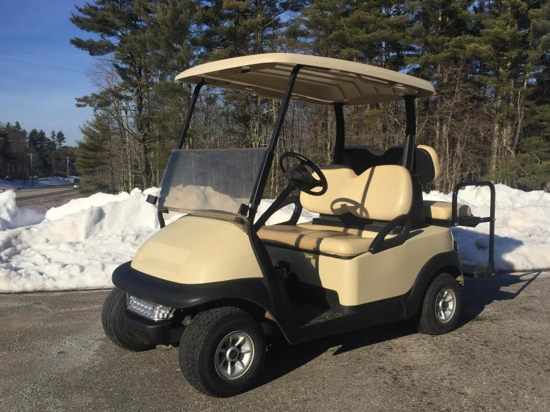 Winter Special! Club Car Precedent 4 Pass Elect Golf Cart 2015 BATTERY-BEIGE