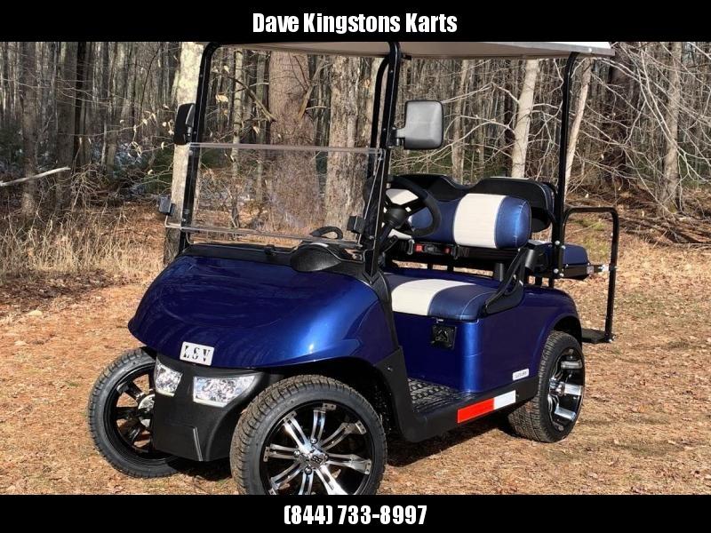 2020 Mid-South LSV 25MPH Street Legal 4 pass golf cart-Electric Blue